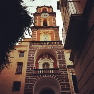 Sorrento clock tower