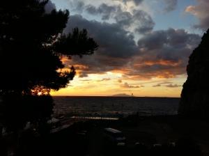 Storm sunset 2