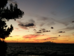 Sunset over Ischia 2
