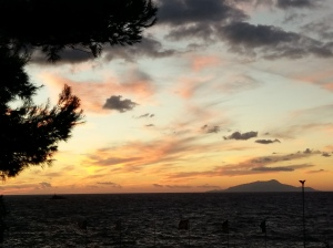Sunset over Ischia 3