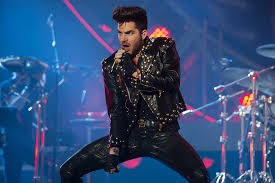 Adam Lambert with Queen