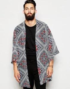 ASOS male kimono 2