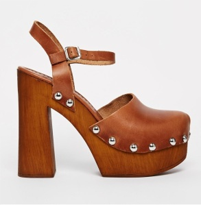 ASOS tan clogs 2