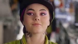 McDonalds advert tattooed girl