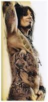Tattooed Nikki Sixx
