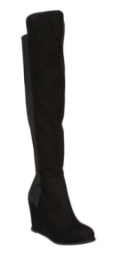 Tesco over the knee wedge boots