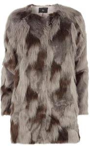 Dorothy Oerkins grey fur coat