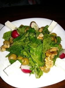 Saba persian restaurant feta and walnut salad