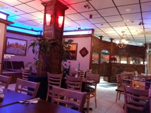 Saba persian restaurant interior