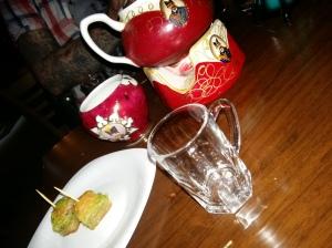 Saba persian restaurant tea and baklava