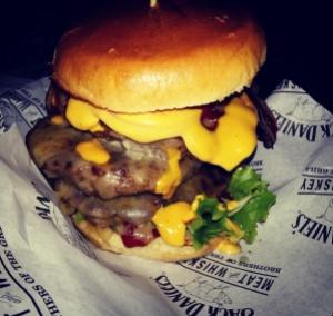 Dirty Cow Burger Company Big Brummy burger