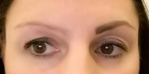 One eyebrow