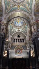 Ceiling Basilica de Notre Dame Lyon