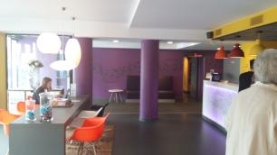 Kyriad Gare Perrache reception area (2)
