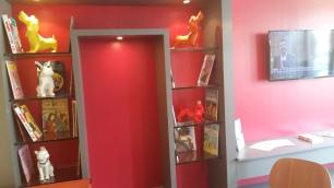 Kyriad Gare Perrache reception area