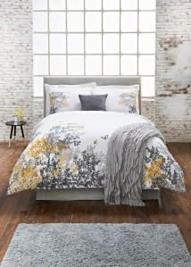 Matalan grey and yellow blossom