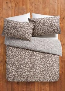 Matalan leopard print duvet