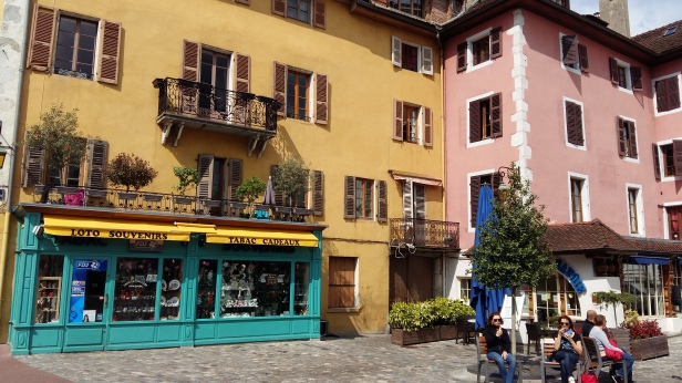 Pretty buildings Annecy