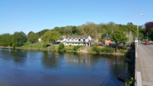 View of River Cafe Glasbury