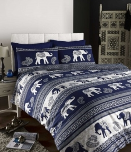 Yorkshire Linen elephant duvet cover