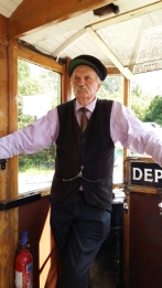 Tram driver Black Country Museum