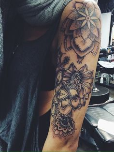 Dotwork tattoo