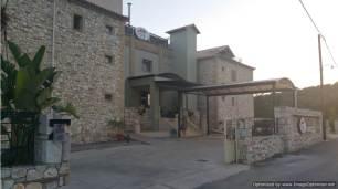Tsokas hotel entrance daytime