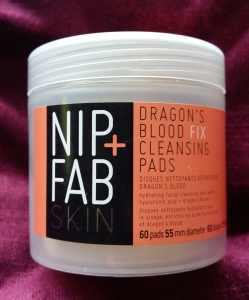 Nip & Fab dragons blood cleansing pads