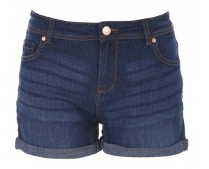 Peacocks indigo denim shorts