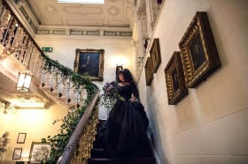 ettington-park-staircase-and-gothic-bride