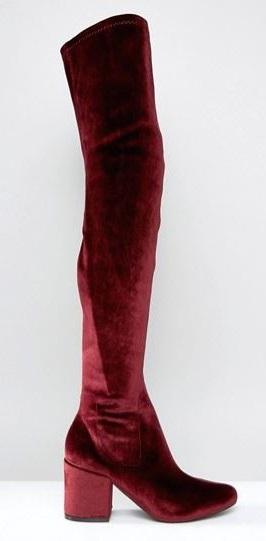 daisy-street-burgundy-velvet-otk-boots