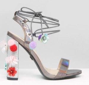 daisy-street-pom-pom-heeled-sandals