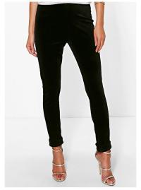 boohoo-black-velvet-skinny-trousers-close-up
