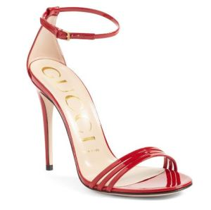 Gucci Ilse red sandal