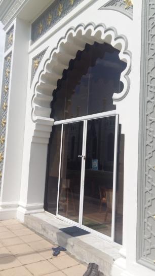 Masjid Kaital Keling doorway