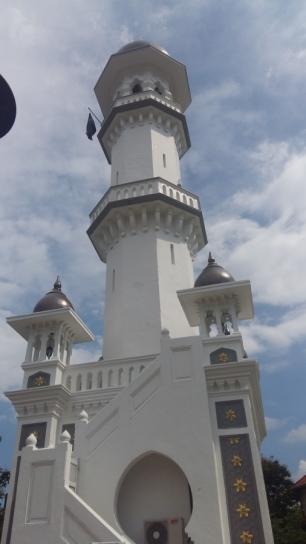 Masjid Kapitan Keling minaret
