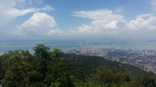 View from Penang Hill 2