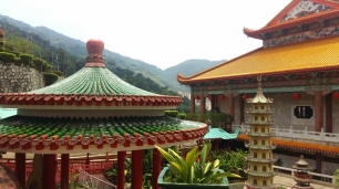 Kek Lok Si temple roof detail
