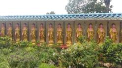 Kek Lok Si temple row of buddhas
