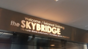 Entrance to the Sky Bridge Petronas Towers