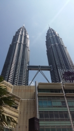 First view of Petronas Towers