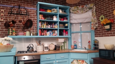 Friendsfest Monicas kitchen