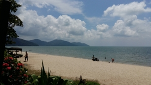 Holiday Inn Penang beach view 2