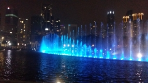 KLCC park fountains light show 5