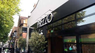 Outside Prezzo Moseley