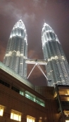Petronas Towers at night 2