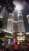 Petronas Towers at night 4
