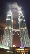 Petronas Towers at night 5