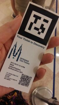 Ticket to Petronas Towers