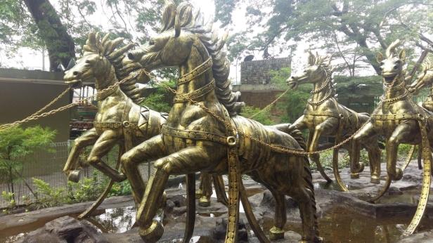 Batu Caves horse statue